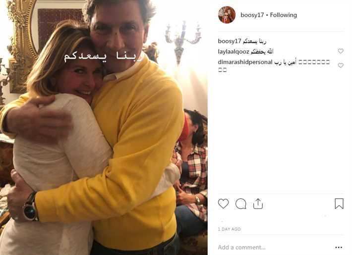 يسرا وزوجها