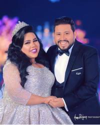 الصور الأولى من حفل زفاف شيماء سيف ومحمد كارتر