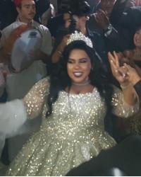 رقص وعزف شيماء سيف في حفل زفافها