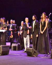 29 صورة- شيرين وحسام حبيب ودرة ومشاهير الفن يلتقون في حفل زياد الرحباني