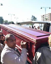 الصور الأولى من جنازة حسن كامي