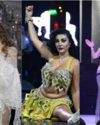الراقصات ونجوم الطرب الشعبي يحتفلون برأس السنة على طريقتهم