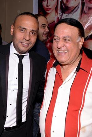 """عبد المغني يحتفل بـ """"النبطشي"""" مع إدوارد ومي كساب وهالة صدقي"""