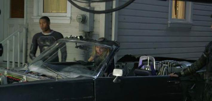 مشهد السيارة المحذوف من Fantastic Four