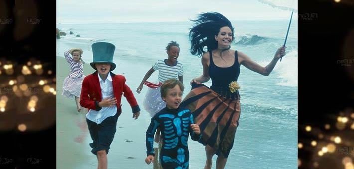 أنجيلينا جولي وأبنائها
