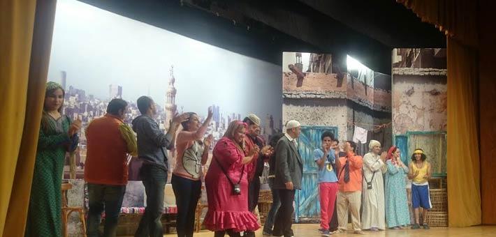 غادة عادل في ضيافة مسرح مصر