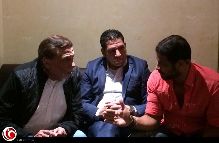 عادل إمام يطمئن من أشرف مصيلحي على إيرادات فيلم كابتن مصر