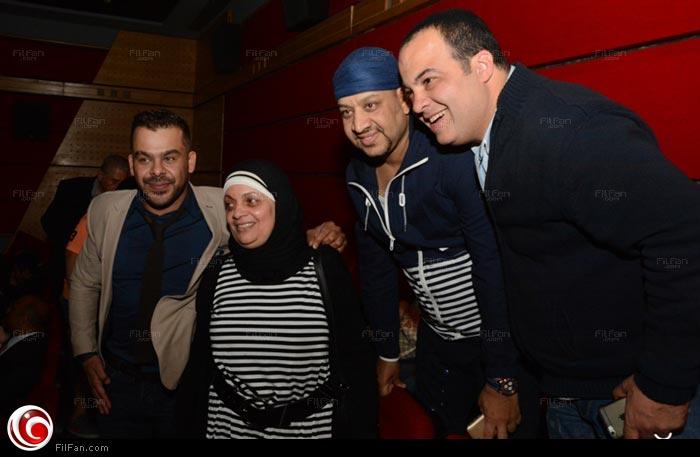 عفاف رشاد في العرض الأول لفيلم كرم الكينج