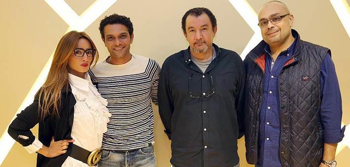 آسر ياسين وزينة