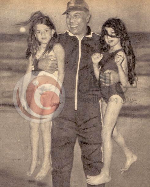 فريد شوقي وبناته