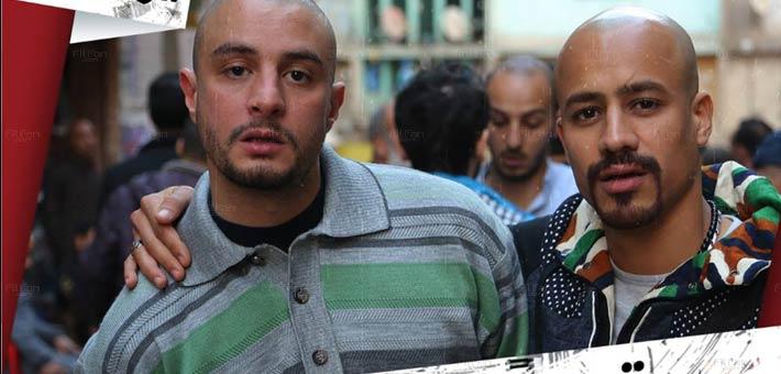 أحمد الفيشاوي وأحمد داوود في كواليس