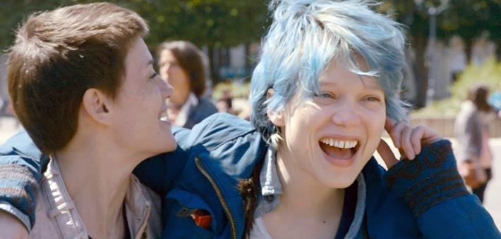 ليا سيدو في فيلم Blue is the Warmest Color