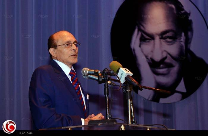 محمد صبحي في احتفالية تكريم نجيب الريحاني