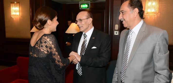 نيللي كريم ومحمد صبحي