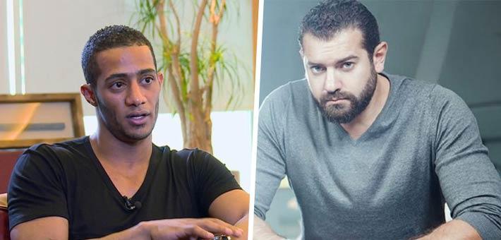 عمرو يوسف ومحمد رمضان