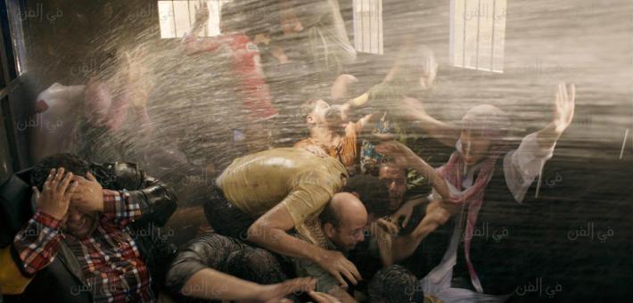 مشهد من فيلم اشتباك