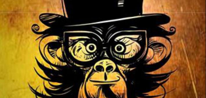 بوستر القرد بيتكلم