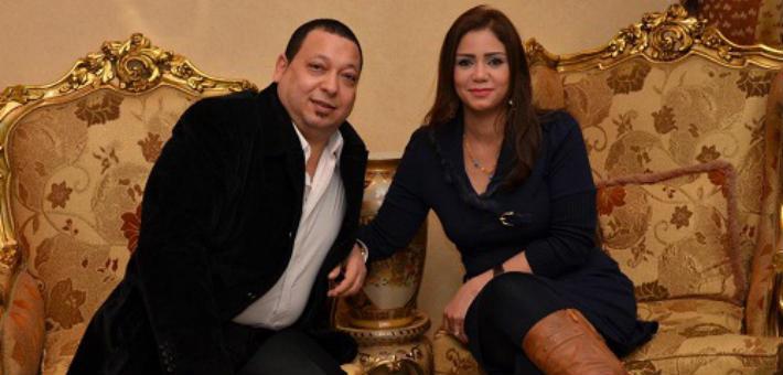 إيناس عز الدين وزوجها أحمد العيسوي