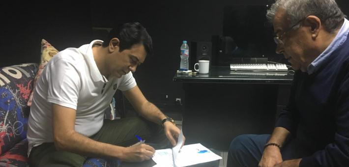 أحمد وفيق وحسين القلا