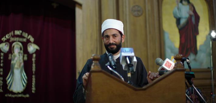 عمرو سعد في فيلم مولانا