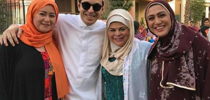 مصطفى شعبان وماجدة زكى ومى نور الشريف ووفاء صادق