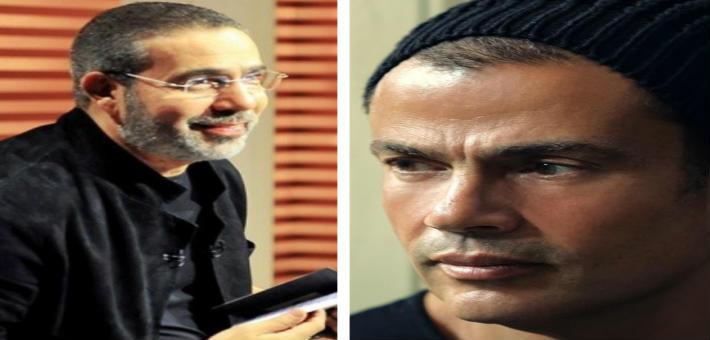عمرو دياب ومدحت العدل