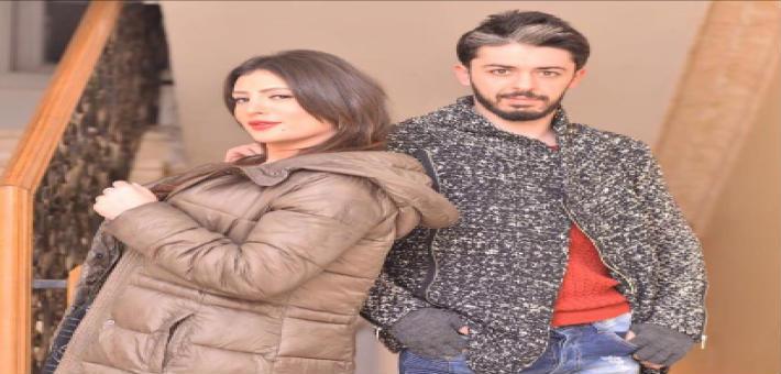 هيثم محمد وزوجته وفاء قمر