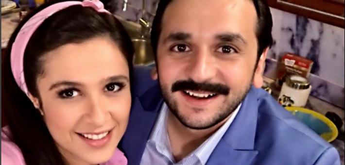 """ياسمين عبد العزيز ومصطفى خاطر في مسلسل """"هربانة منها"""""""