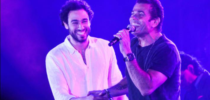 عمرو دياب ورامي عاشور