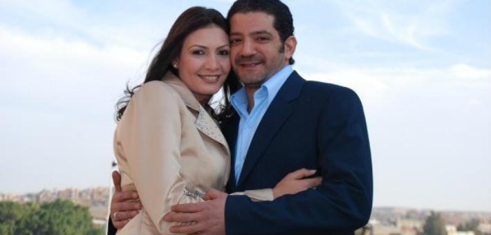 مجدي بدر وزوجته