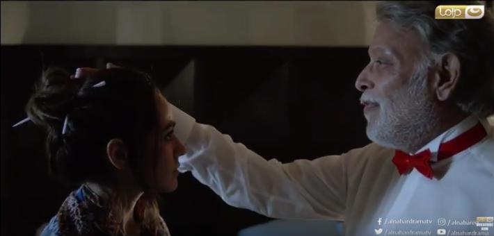 أشرف عبد الغفور وهند عبد الحليم في مسلسل طاقة نور