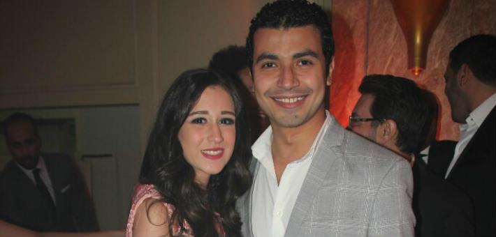 محمد أنور وزوجته