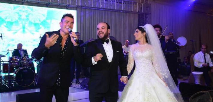 محمد عبد الرحمن وآية في الزفاف