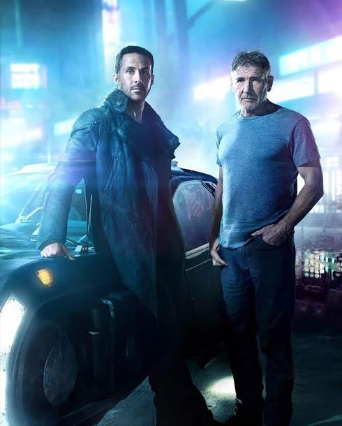 هاريسون فورد وريان جوسلينج في Blade Runner 2049