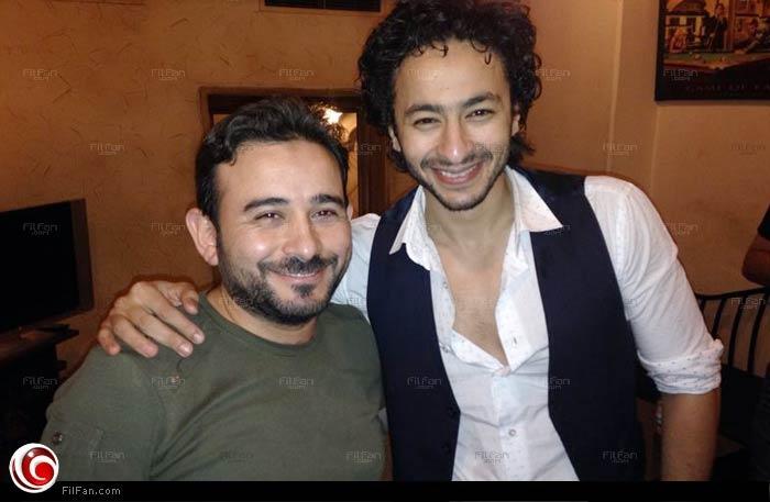 حمادة هلال مع الموزع الموسيقي أحمد عادل