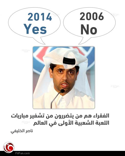 8 سنوات كانت كافية لتغيير آراء ناصر الخليفي