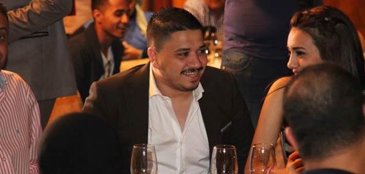 مصطفى حجاج في حفل هاني محروس