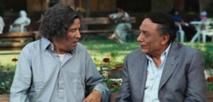 """عادل إمام مع سعيد صالح في فيلم """"زهايمر"""""""