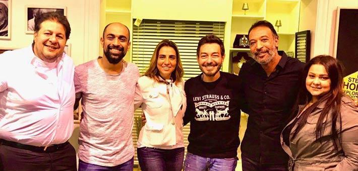 """باسل خياط وأحمد زاهر وريهام عبد الغفور أبطال مسلسل """"الرحلة 710""""،"""