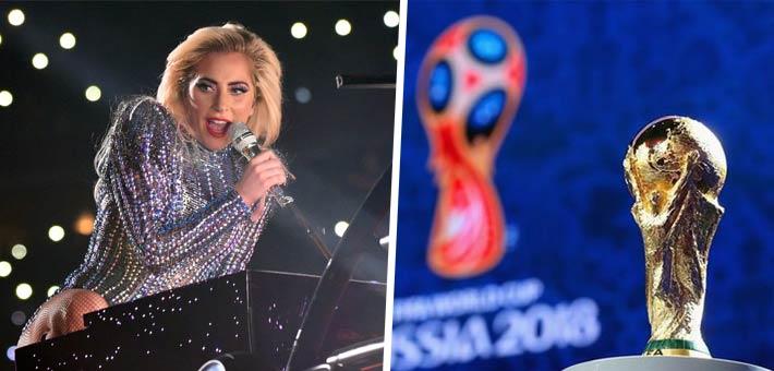 ليدي جاجا تستعد لأغنية كأس العالم