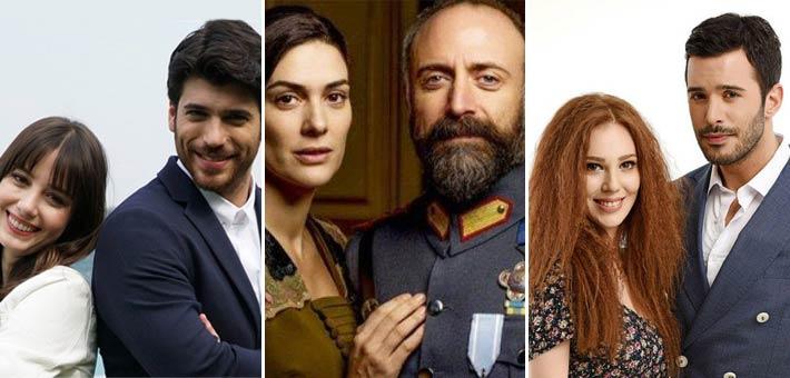 نجوم الدراما التركية