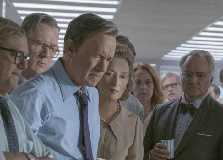 مشهد من فيلم The Post