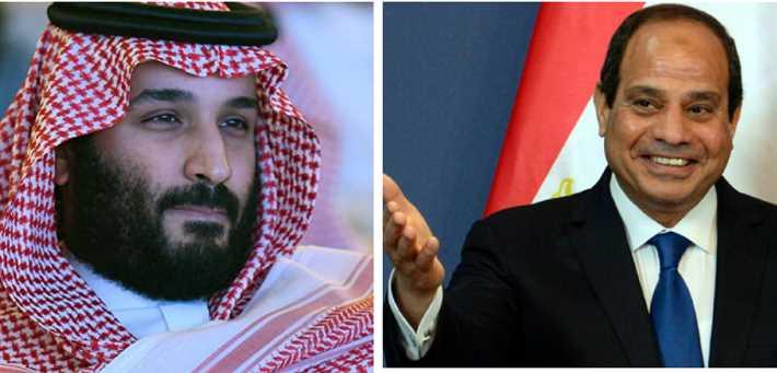السيسي وولي العهد السعودي