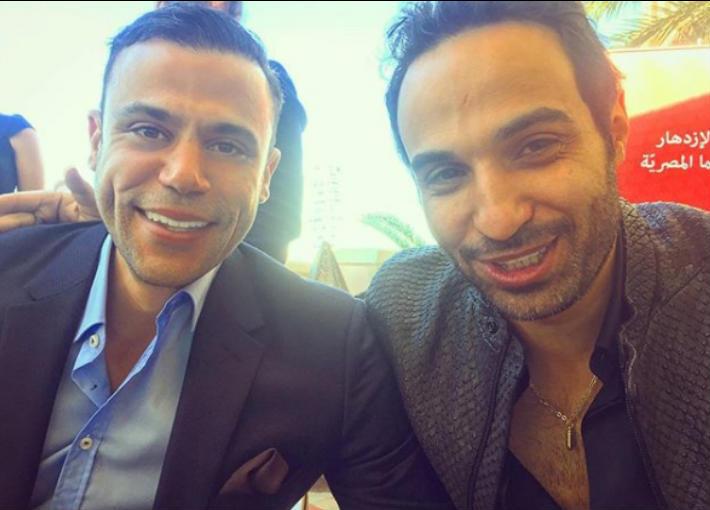 محمد إمام وأحمد فهمي
