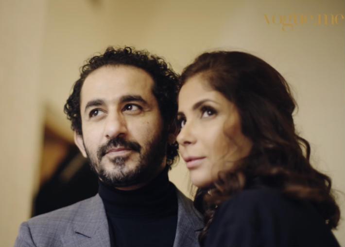 بالفيديو- أحمد حلمي يحتفل بعيد ميلاده في كواليس Arabs Got talent.. وهذه رسالته لمنى زكي
