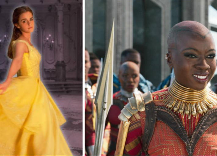 Black Panther و Beauty and the Beast