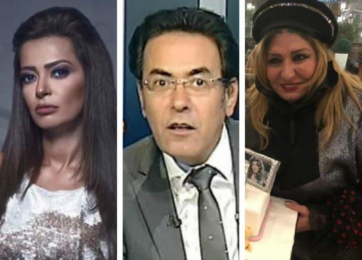 سهير رمزي وخيري رمضان وداليا مصطفى