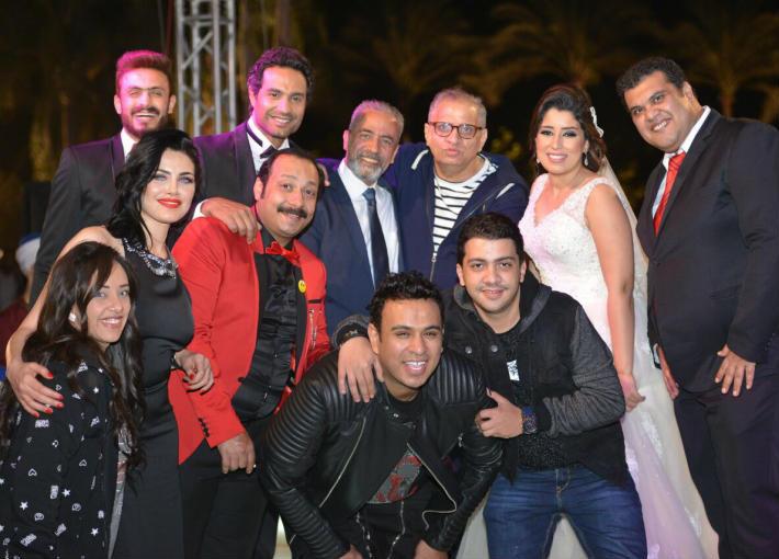 الاحتفال بانتهاء تصوير فيلم علي بابا