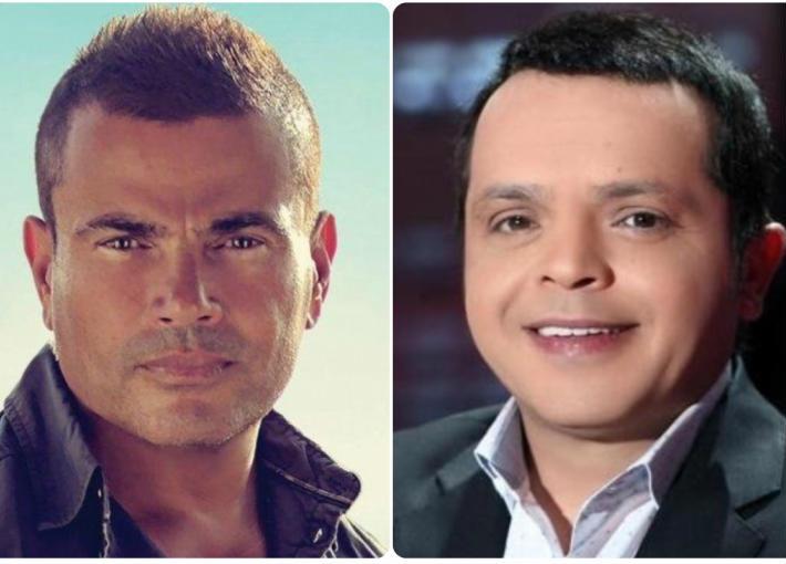محمد هنيدي وعمرو دياب