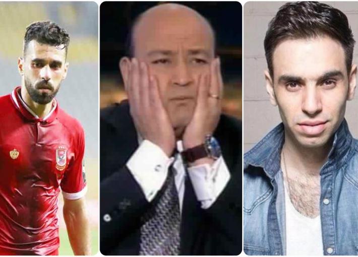 أحمد الشامي وعمرو أديب وعبد الله السعيد